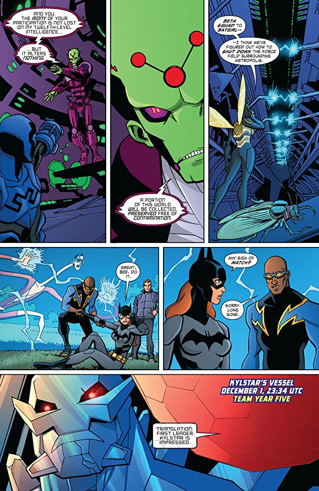 click for super-sized previews of Young Justice (2011-2013) #25
