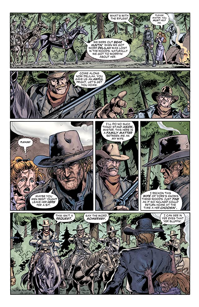 click for super-sized previews of Jonah Hex (2006-2011) #18