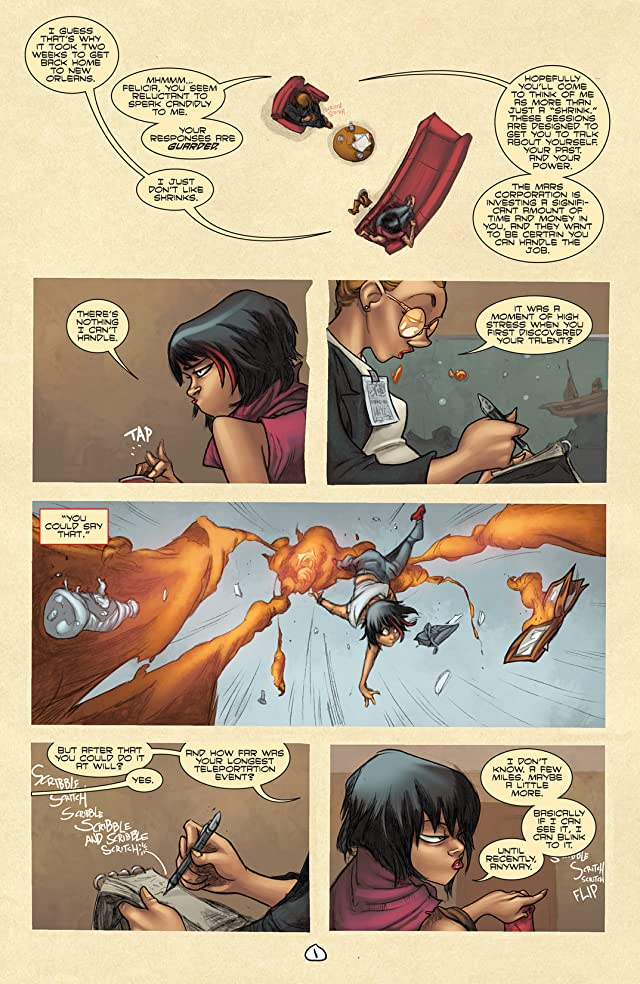click for super-sized previews of I Love Trouble #4