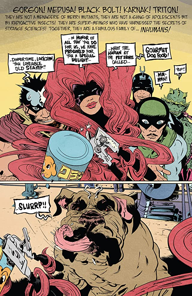 click for super-sized previews of Strange Tales #1 (of 3)