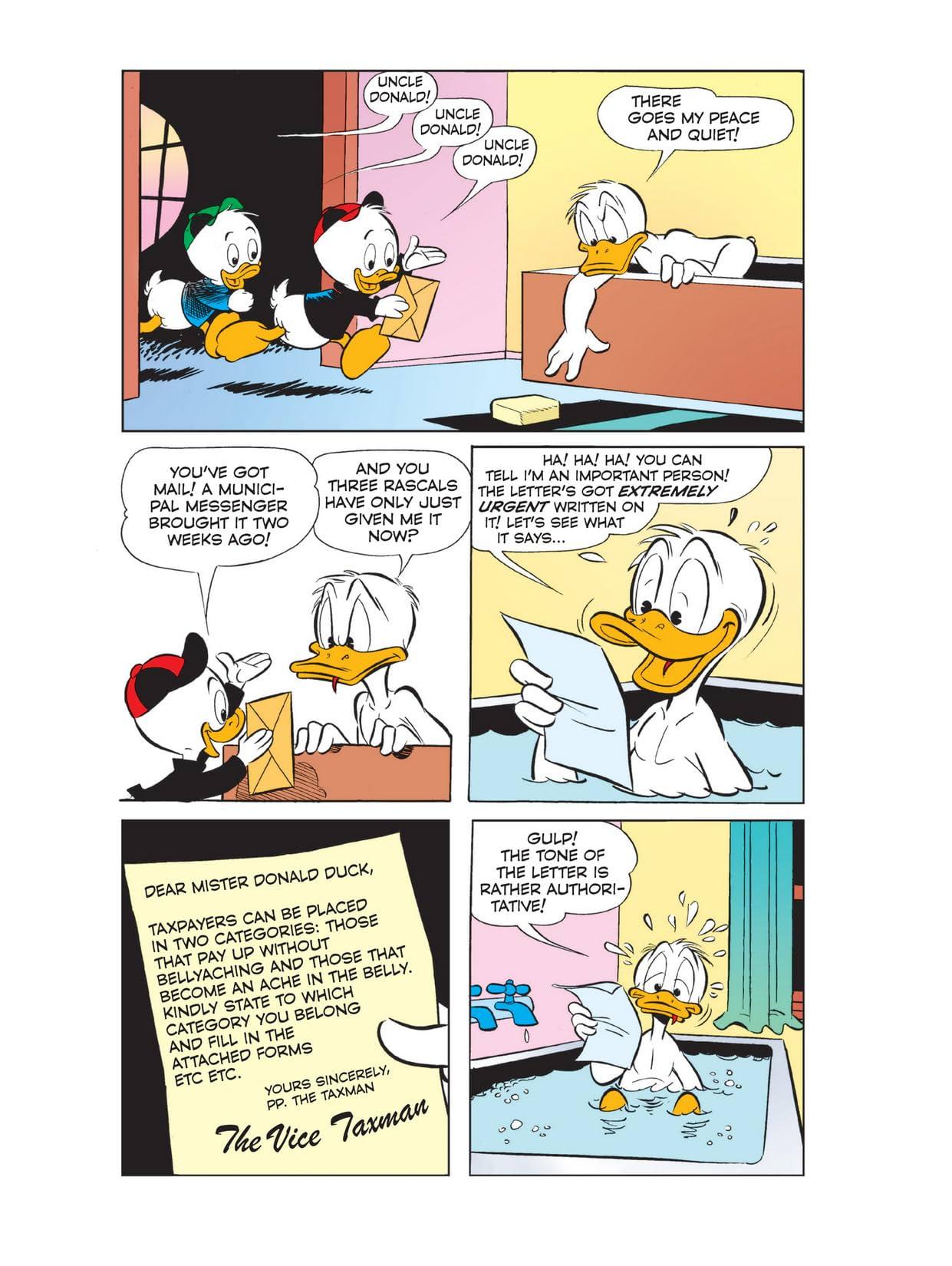 Donald Duck in Hamlet, Prince of Duckmark #1