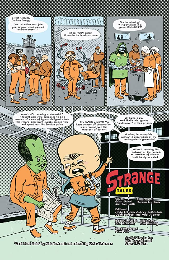 click for super-sized previews of Strange Tales #3