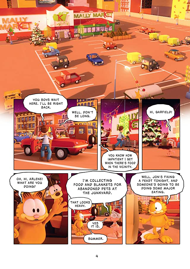 click for super-sized previews of Garfield and Company Vol. 7: Home For the Holidays