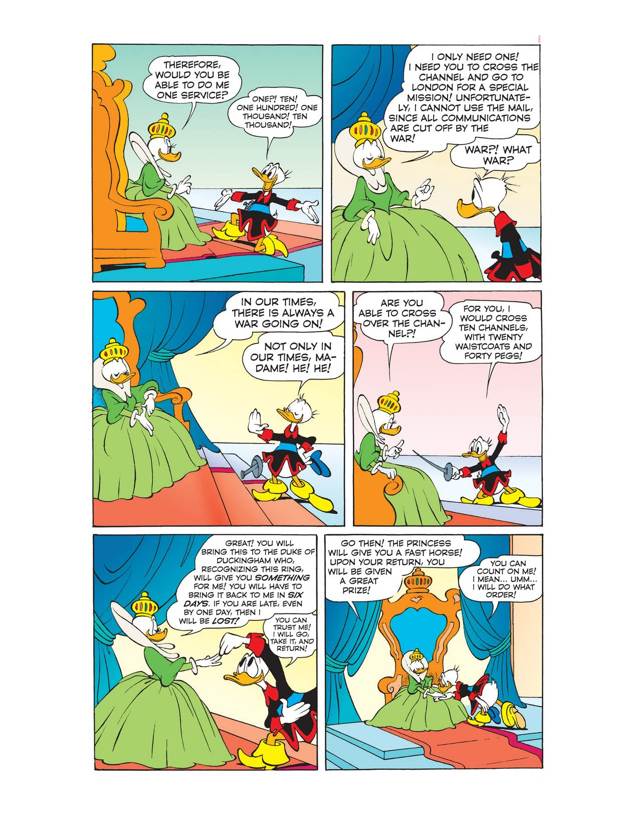 Donald Duck and the Three Musketeers #2