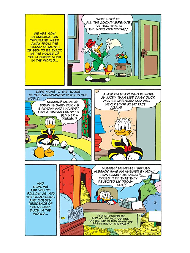 Donald Duck and the Count of Monte Cristo #1