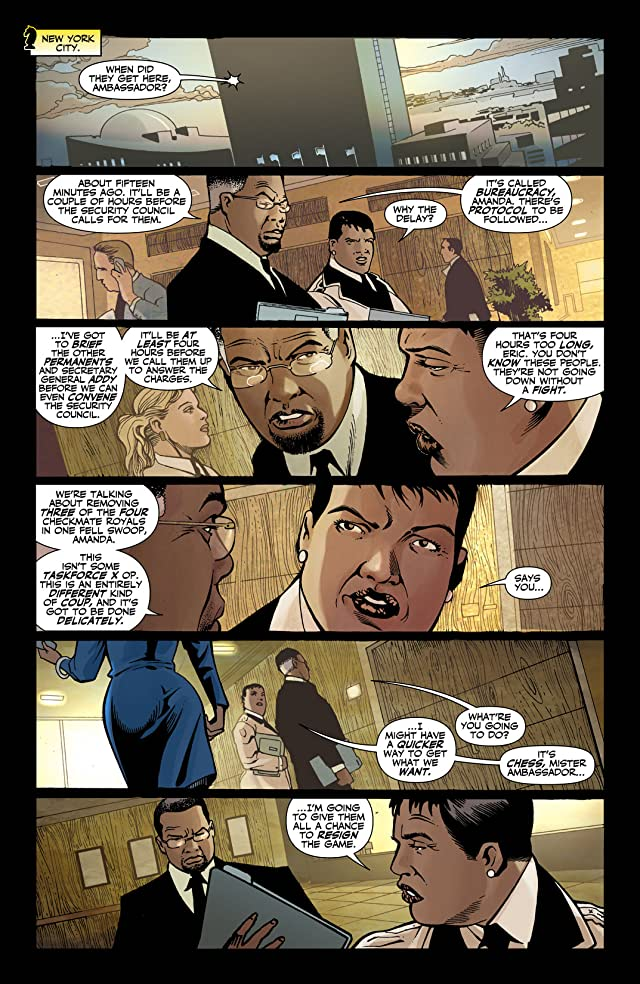 click for super-sized previews of Checkmate (2006-2008) #20