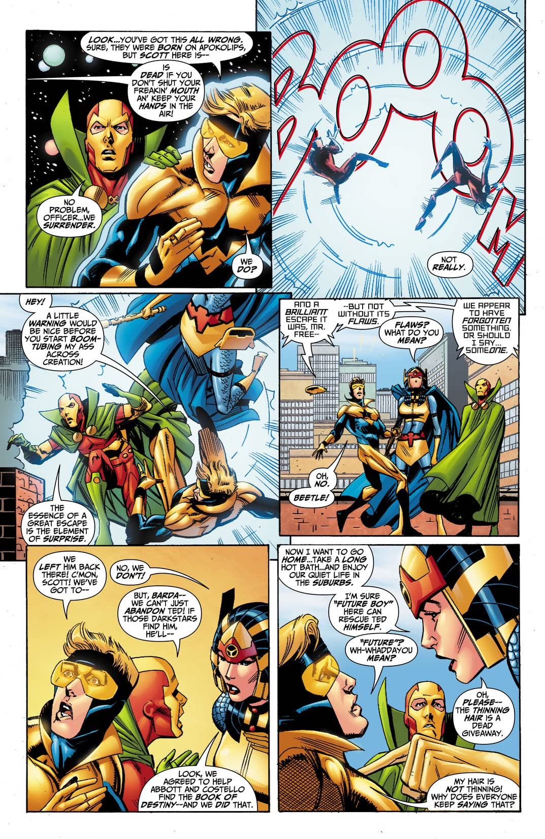 Booster Gold (2007-2011) #36