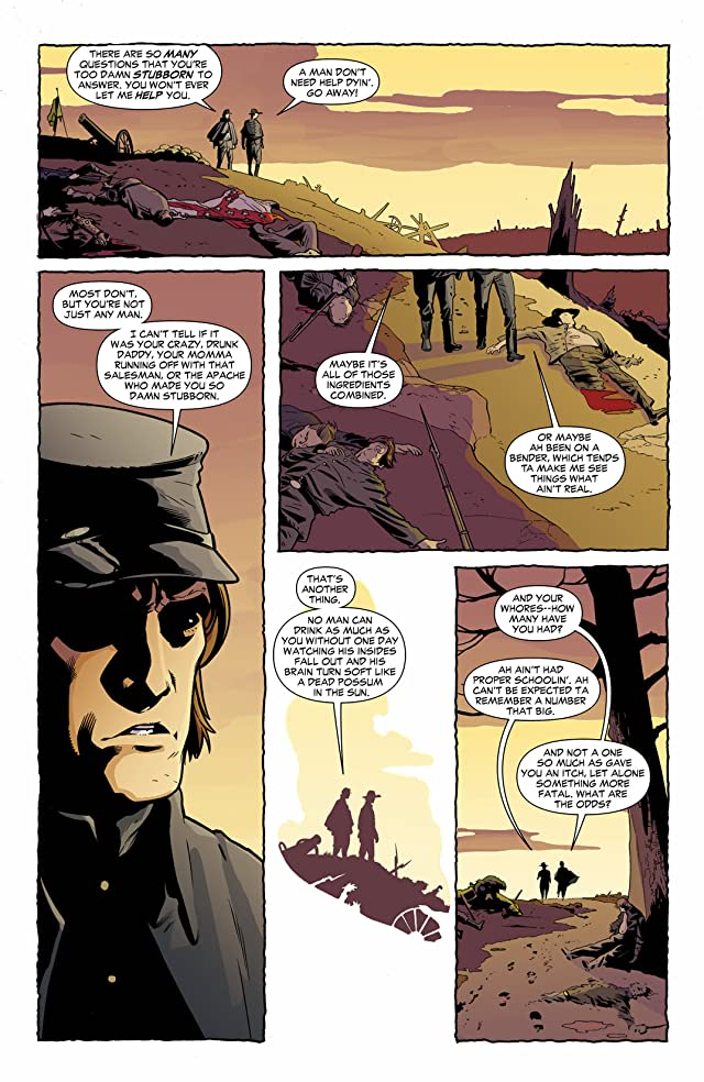 click for super-sized previews of Jonah Hex (2006-2011) #70