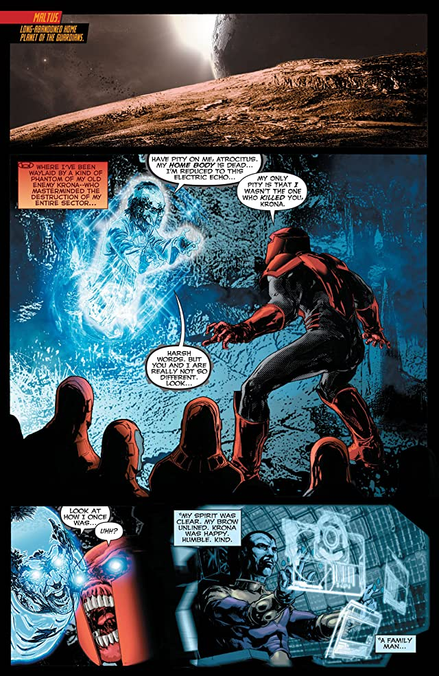 click for super-sized previews of Red Lanterns (2011-2015) #17