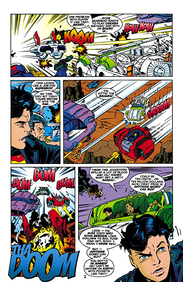 click for super-sized previews of Superboy (1994-2002) #58