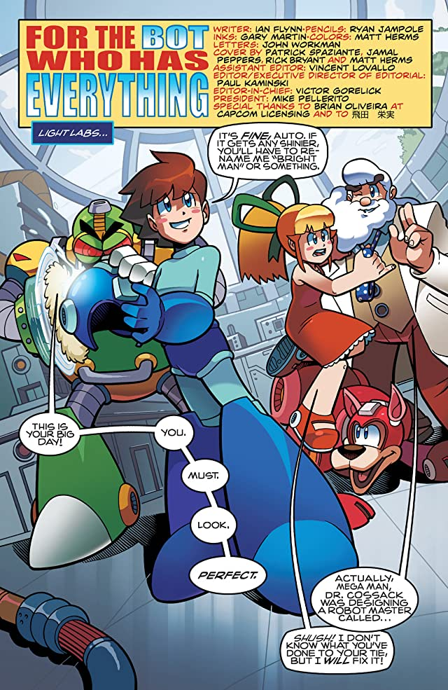 click for super-sized previews of Mega Man #23