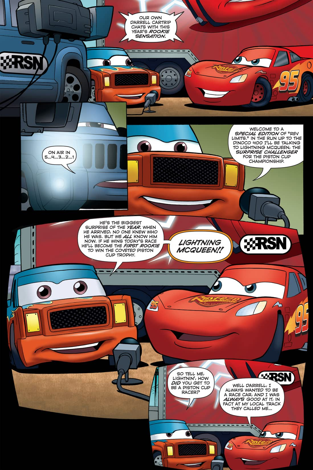 Cars: The Rookie