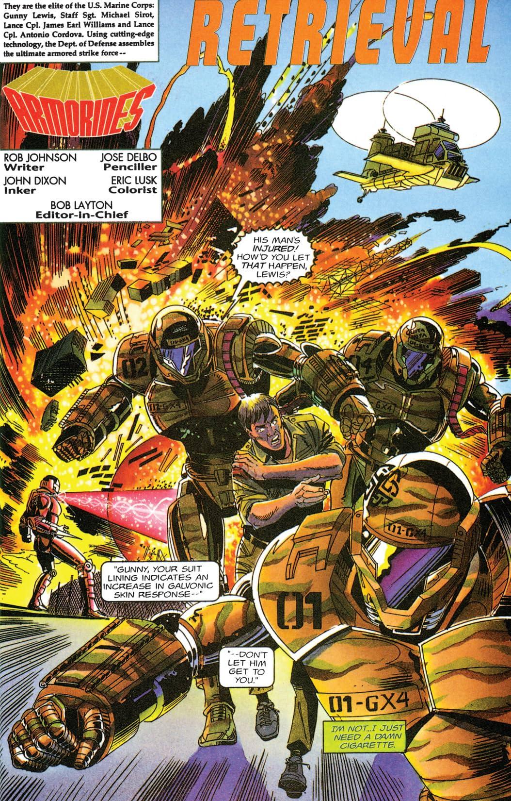 Armorines (1994-1995) #8