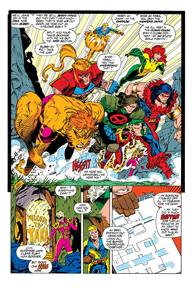 click for super-sized previews of X-Force (1991-2004) #25