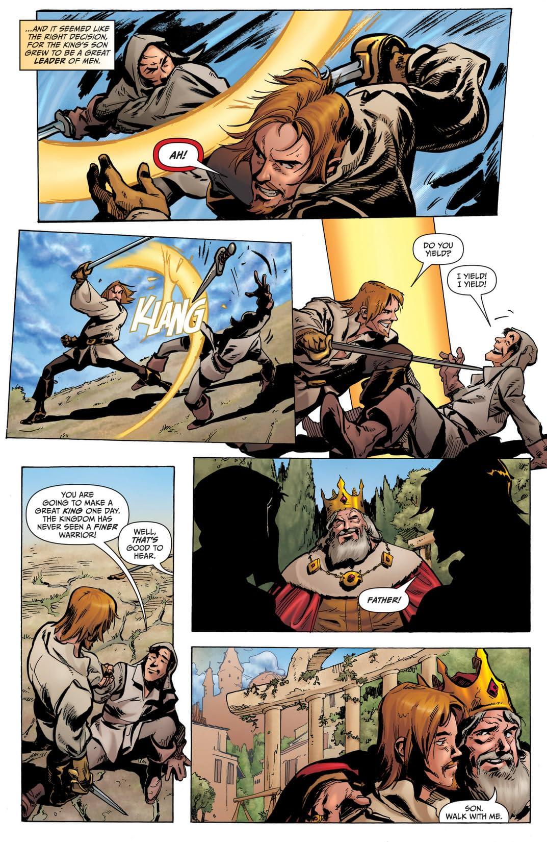 Grimm Universe #4: The Dark One