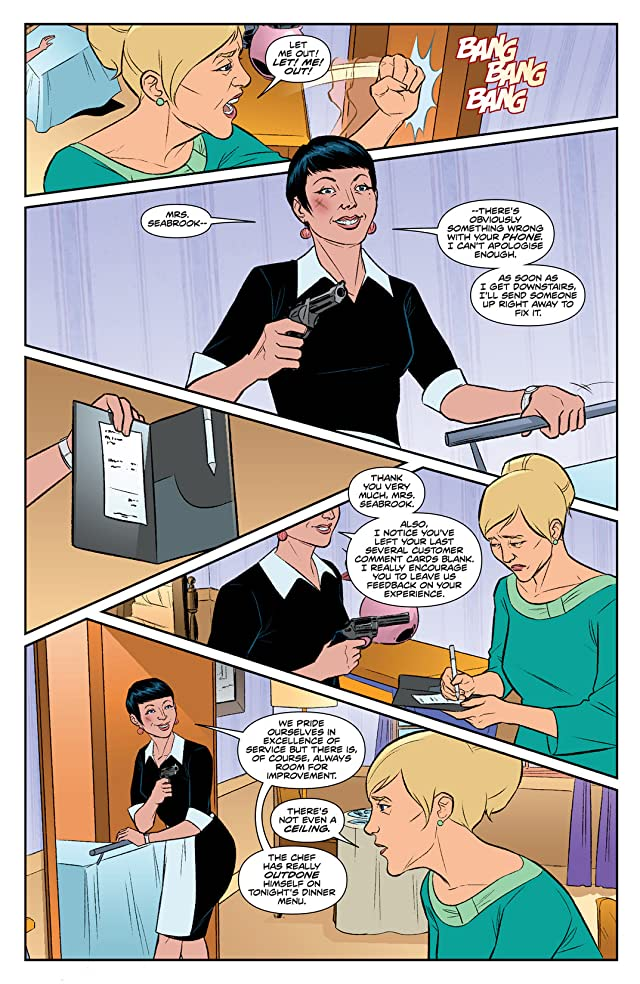 Steed and Mrs. Peel: Ongoing #5