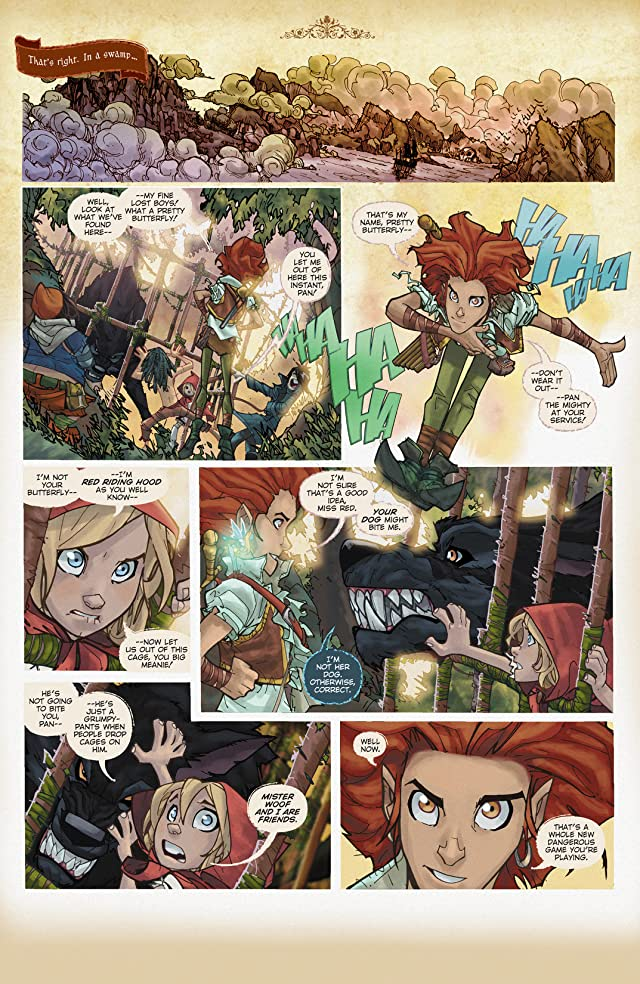 click for super-sized previews of Fairy Quest #2