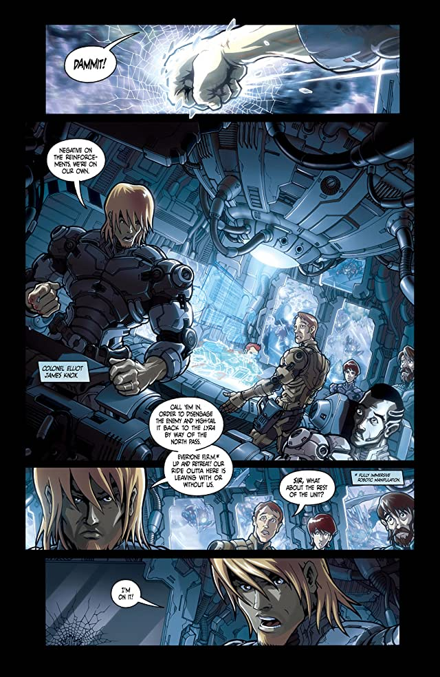 click for super-sized previews of Armarauders #1
