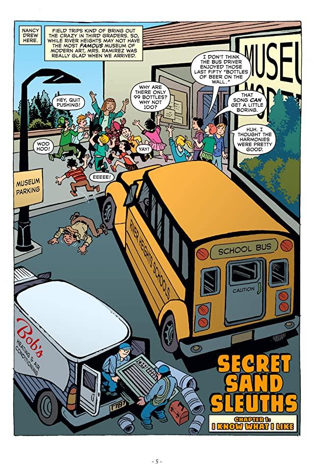 click for super-sized previews of Nancy Drew & The Clue Crew Vol. 2: Secret Sand Sleuths