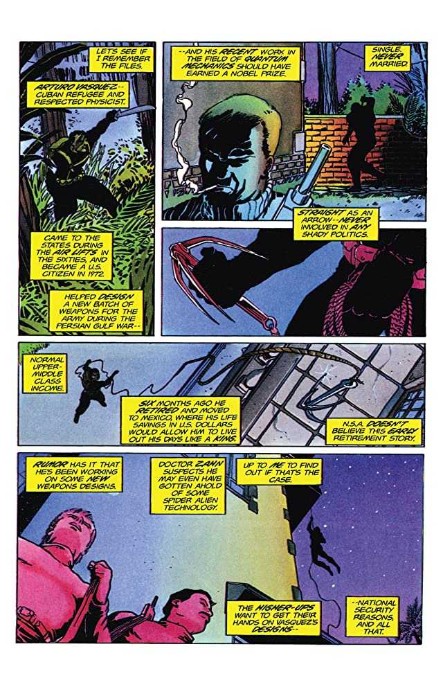 click for super-sized previews of Armorines (1994-1995) #9