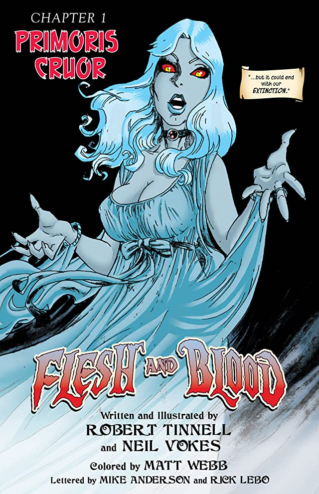 click for super-sized previews of Flesh and Blood Vol. 1
