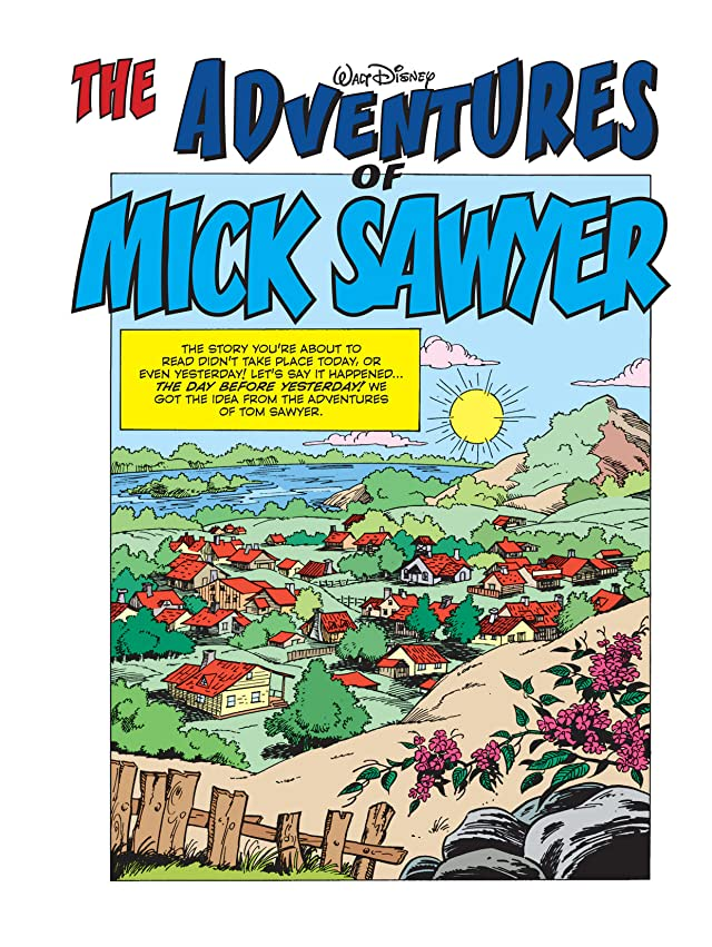 click for super-sized previews of The Adventures of Mick Sawyer #1