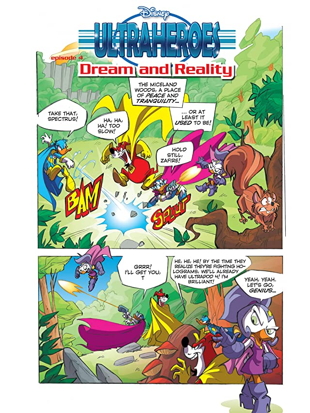 Ultraheroes #4: Dream and Reality