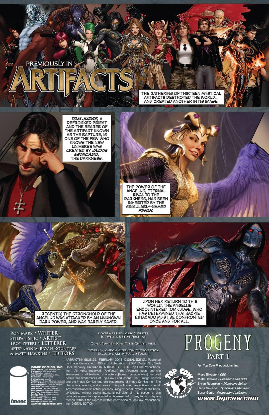 Artifacts #25