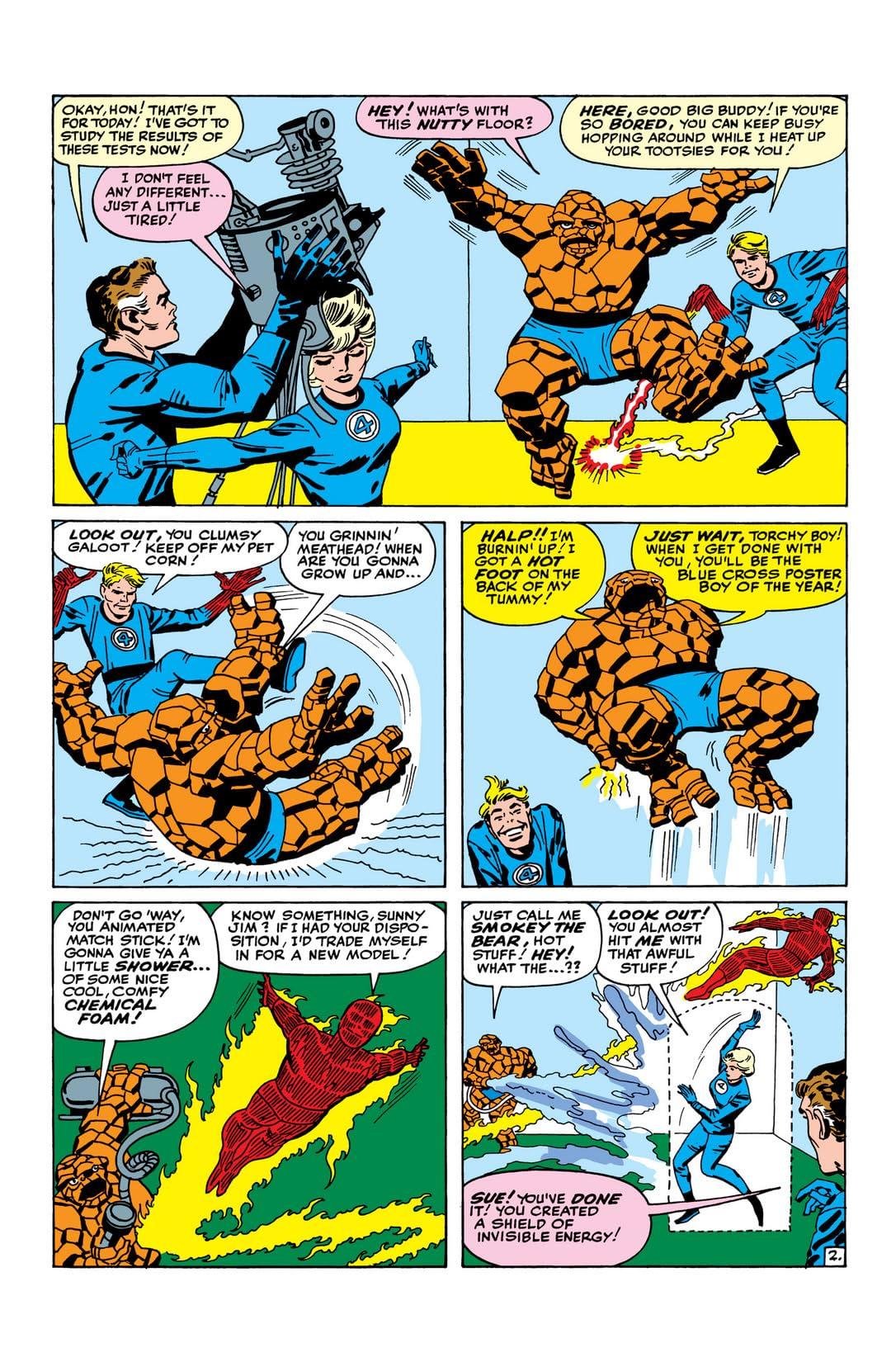 Fantastic Four (1961-1998) #22