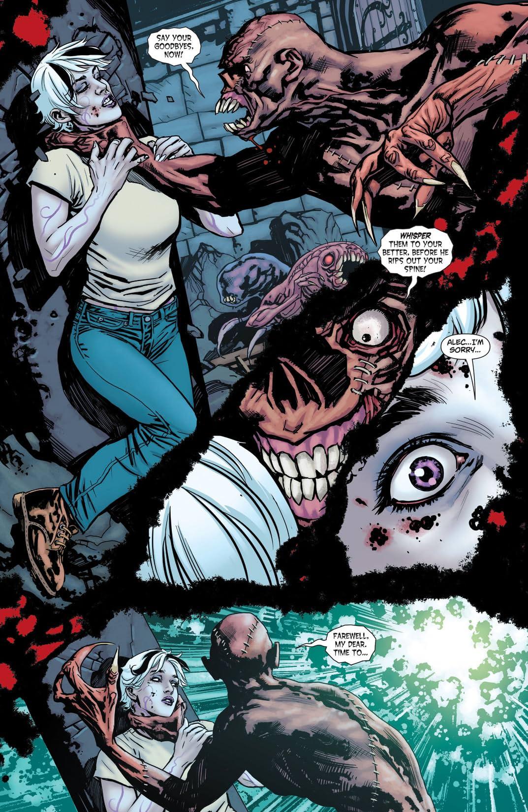 Swamp Thing (2011-2015) #18