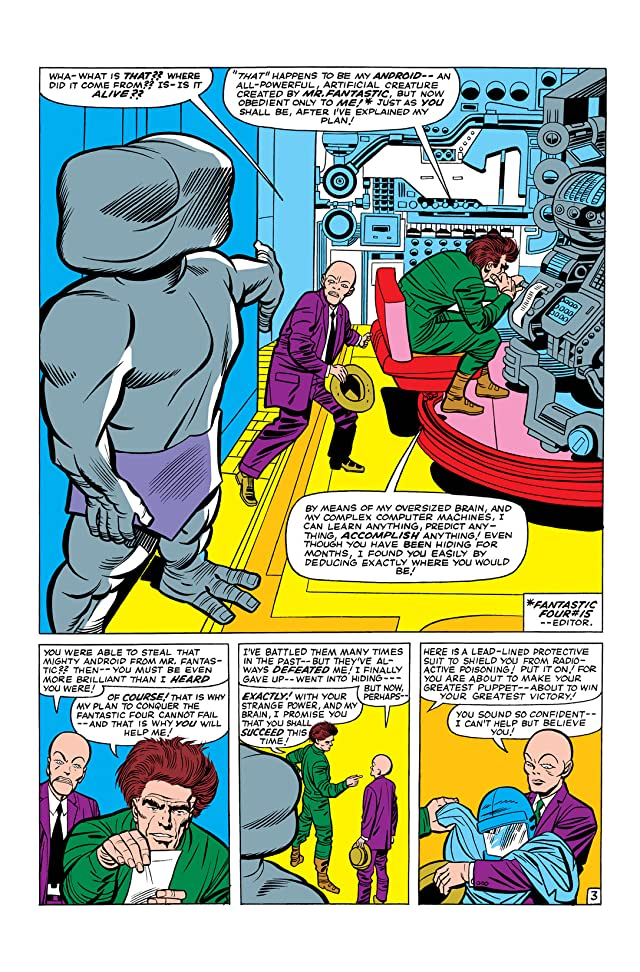 click for super-sized previews of Fantastic Four (1961-1998) #28
