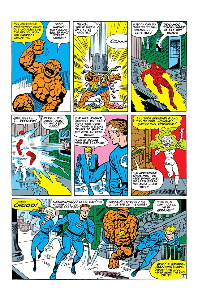 click for super-sized previews of Fantastic Four (1961-1998) #29