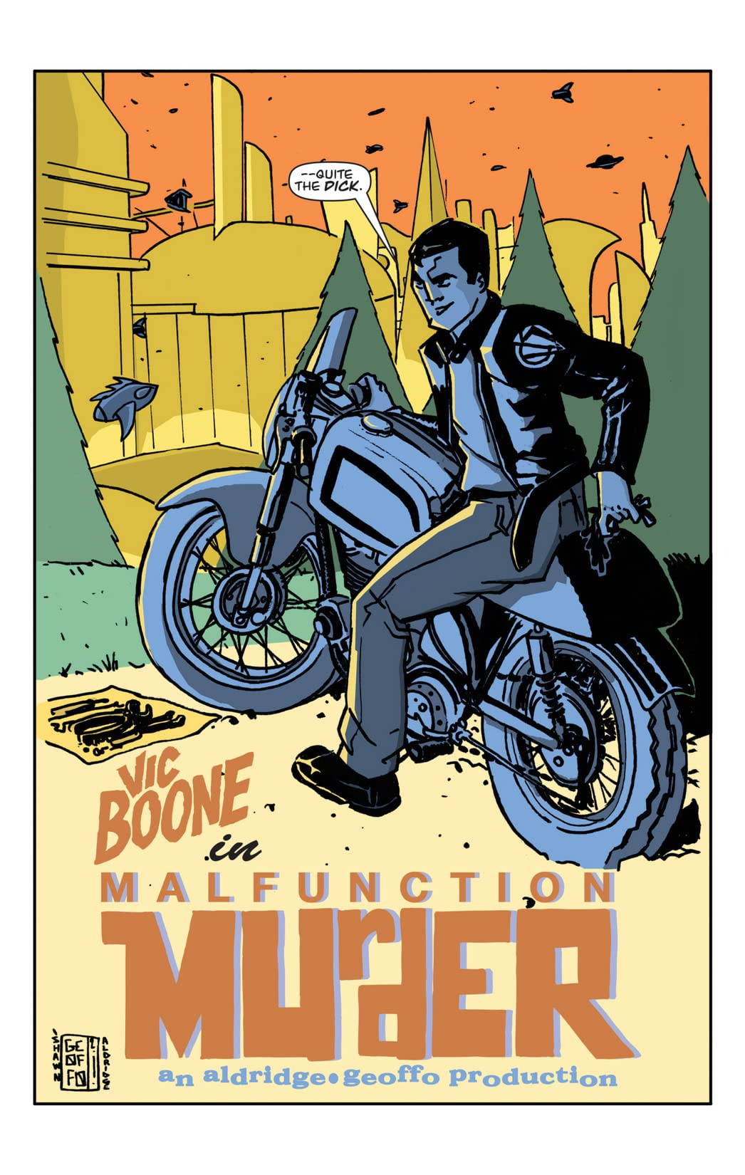 Vic Boone Vol. 1: Malfunction Murder
