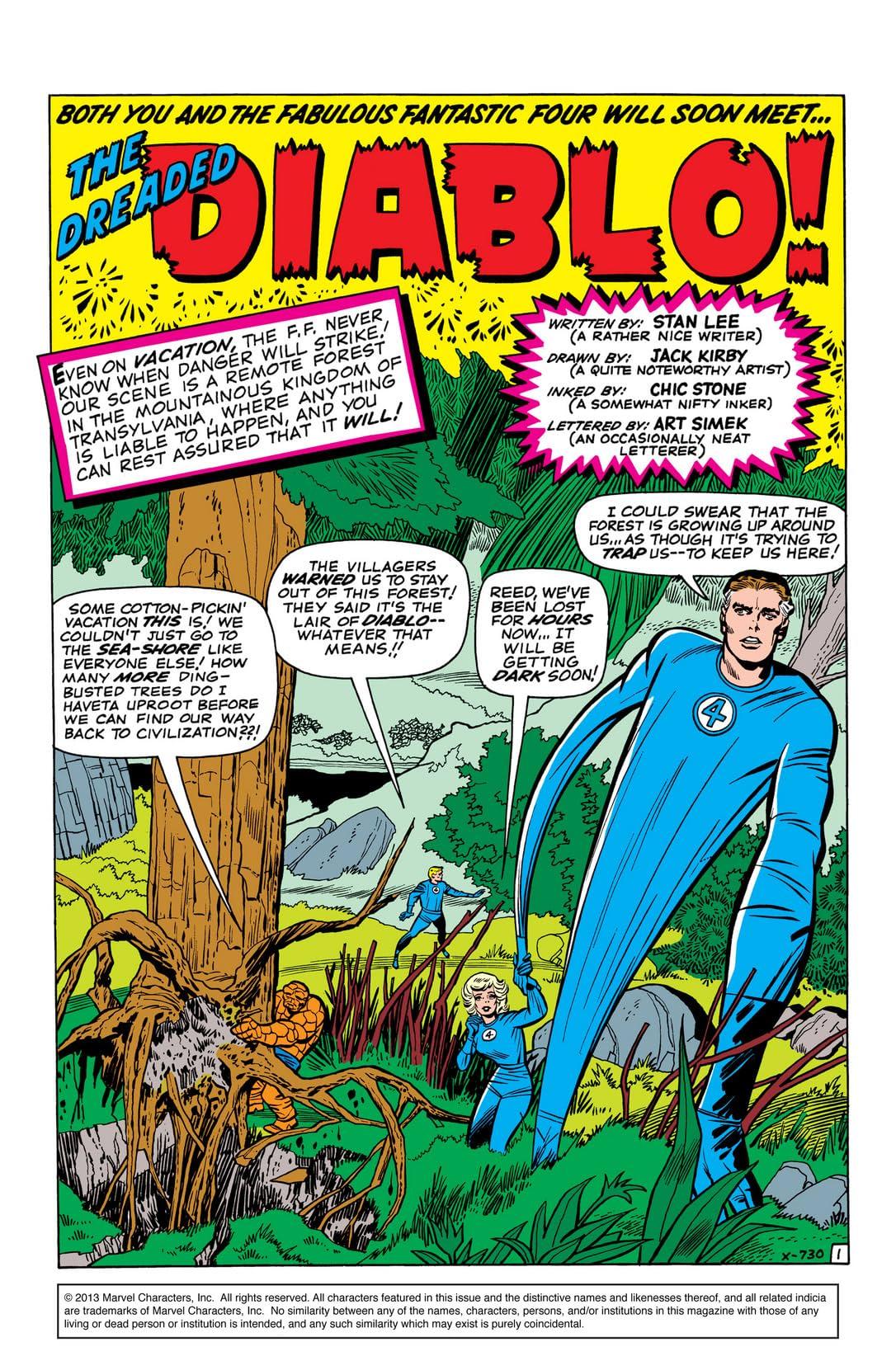 Fantastic Four (1961-1998) #30