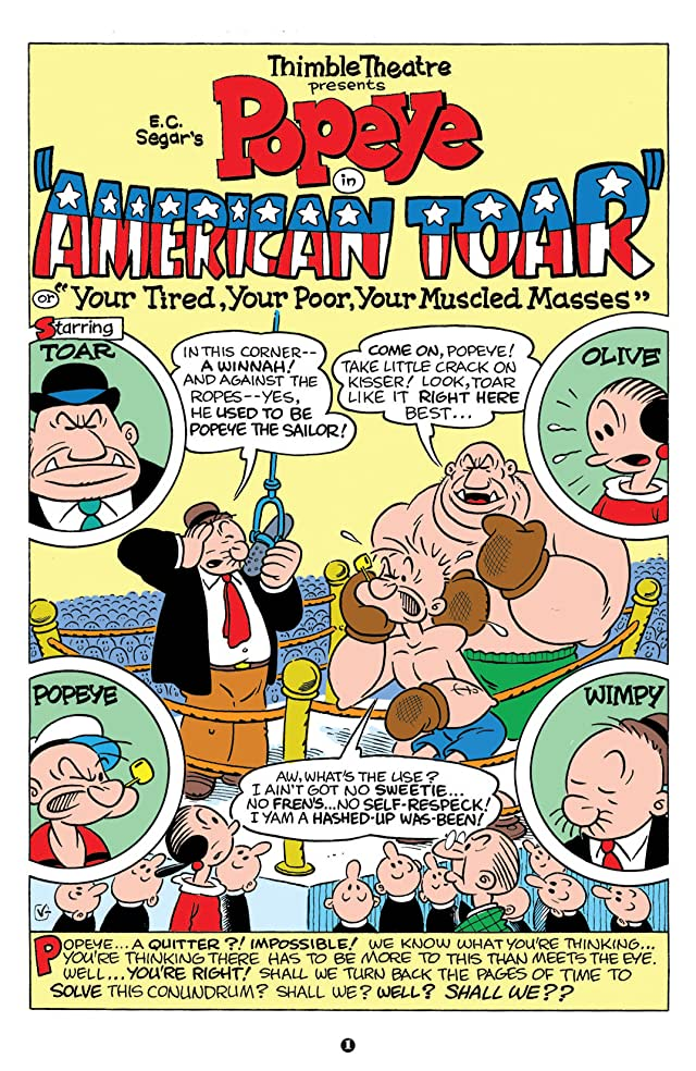 click for super-sized previews of Popeye #10