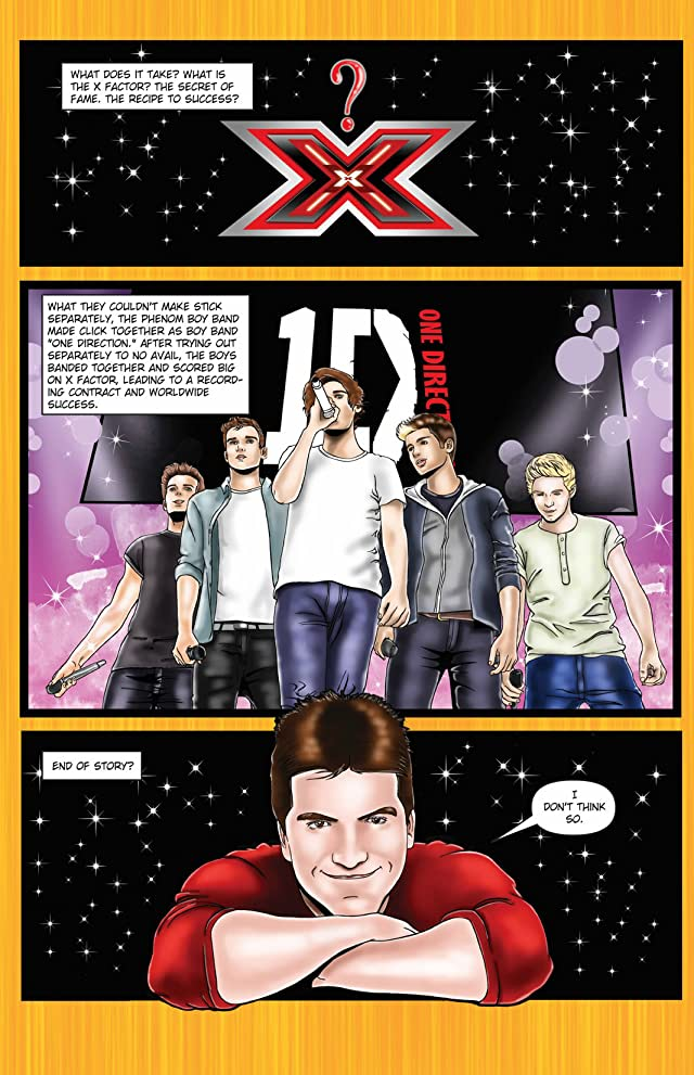 click for super-sized previews of Fame: One Direction #2