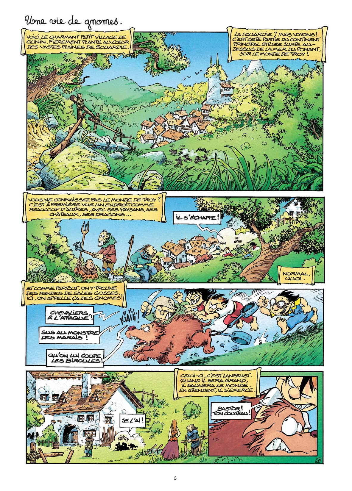 Gnomes de Troy Vol. 1: Humour rural