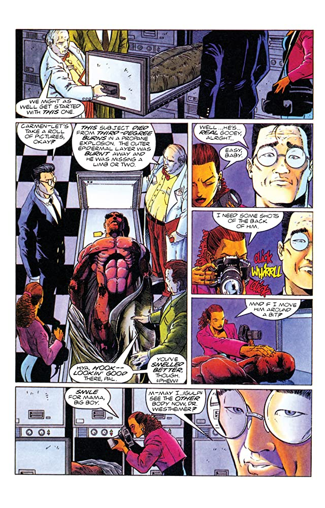 click for super-sized previews of The Second Life of Doctor Mirage (1993-1995) #1
