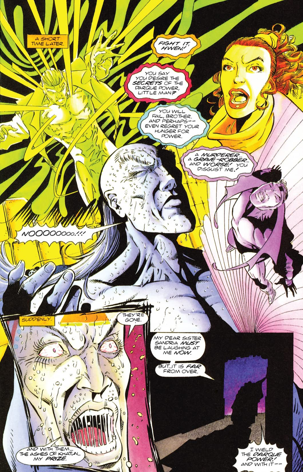 The Second Life of Doctor Mirage (1993-1995) #2