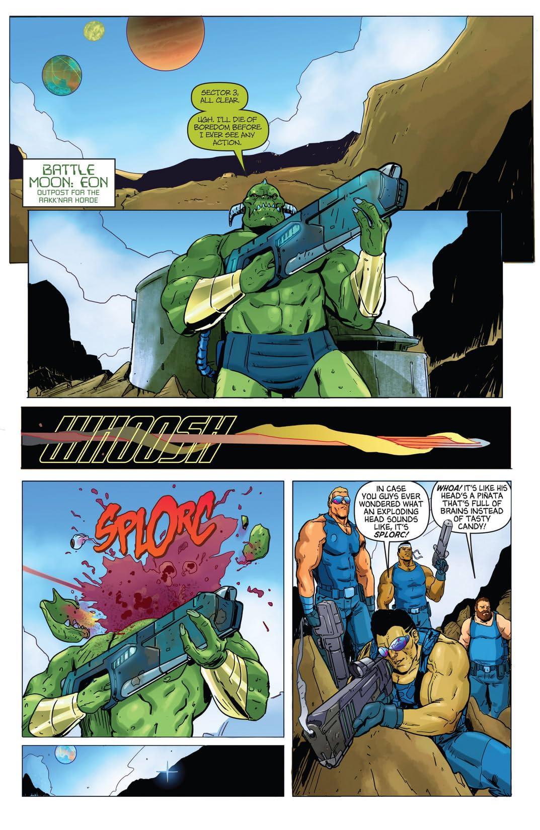 Aliens vs. Parker #1 (of 4)