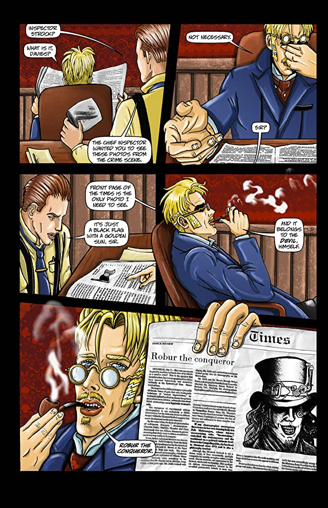 click for super-sized previews of Vincent Price: Tales From the Darkness #2