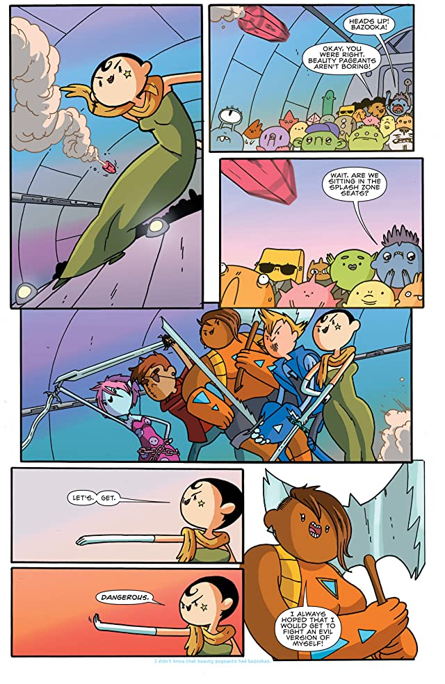 click for super-sized previews of Bravest Warriors #6