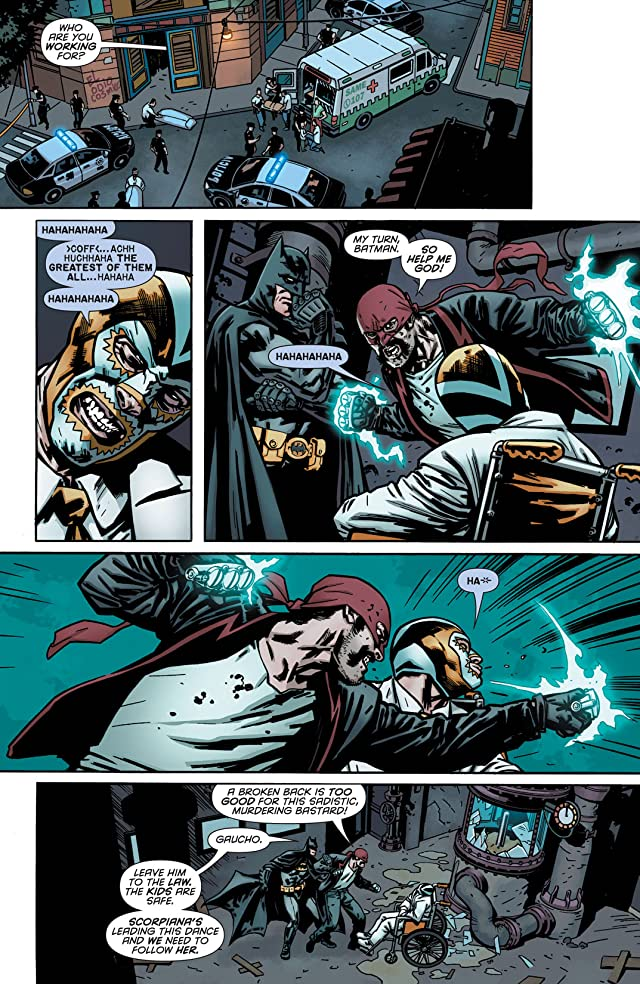 click for super-sized previews of Batman Incorporated #5