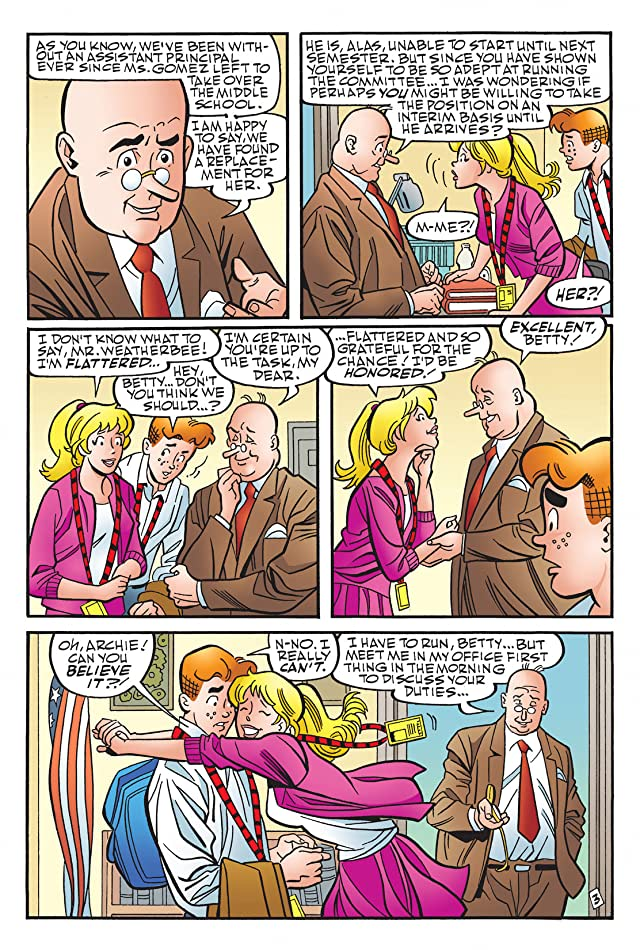 click for super-sized previews of Archie Marries Betty #28