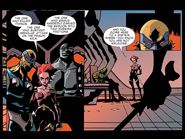 click for super-sized previews of Guardians of the Galaxy Infinite Comic #1