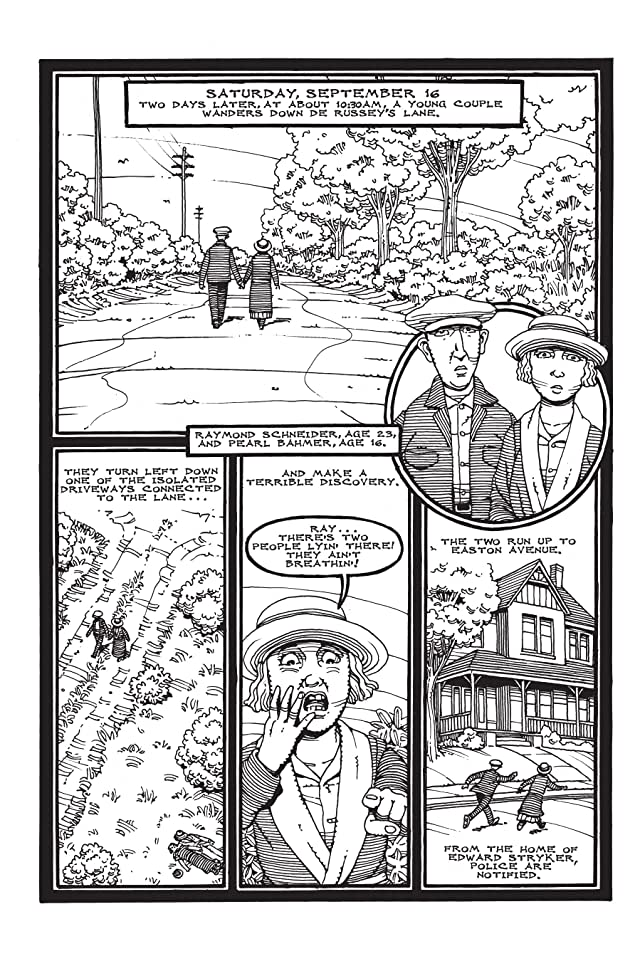 click for super-sized previews of A Treasury of 20th Century Murder Vol. 5: Lover's Lane The Hall-Mills Mystery Preview