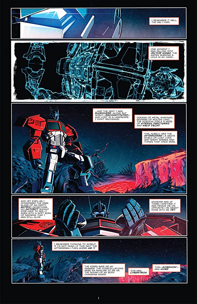 click for super-sized previews of Transformers: Death of Optimus Prime
