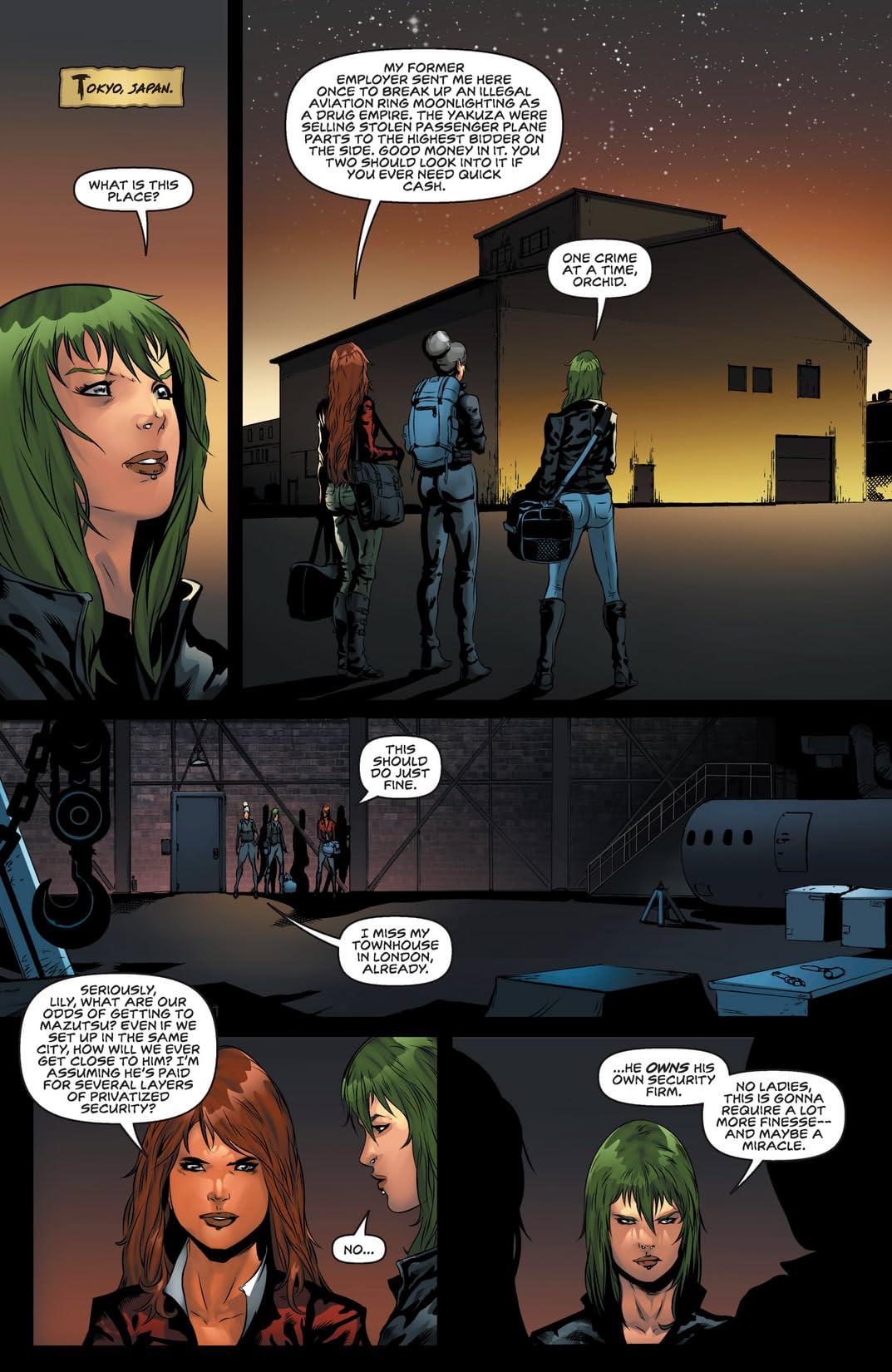 Executive Assistant: Assassins #9