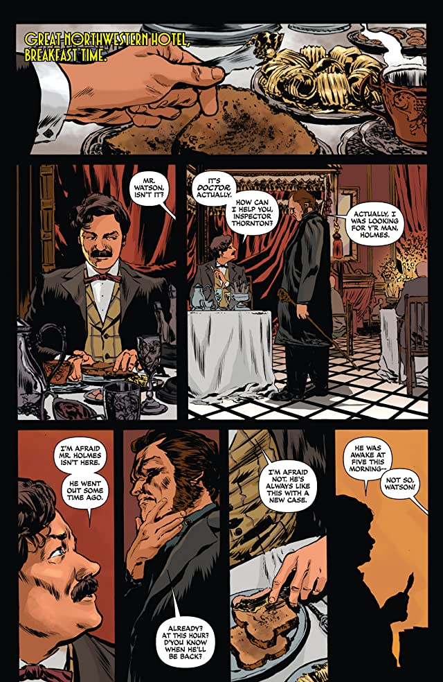 click for super-sized previews of Sherlock Holmes: Liverpool Demon #3 (of 5)