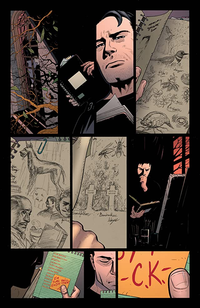 click for super-sized previews of Batman and Robin (2011-2015) #18